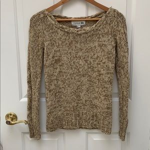 Forever 21 knitted beige sweater